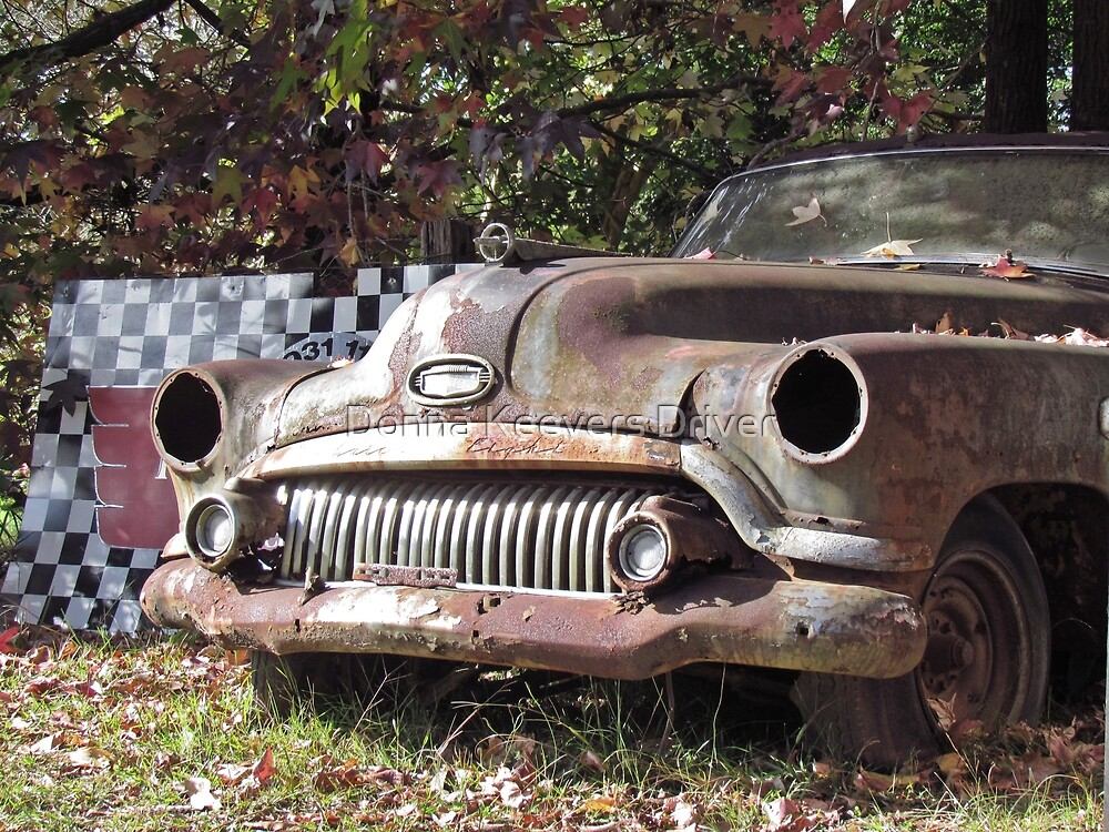 Needs a wash....! by Donna Keevers Driver