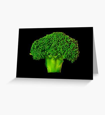 Broccoli Greeting Card