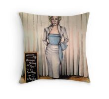 MM 1952 Audition ( 1996 ) Throw Pillow
