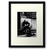 Play me another Framed Print