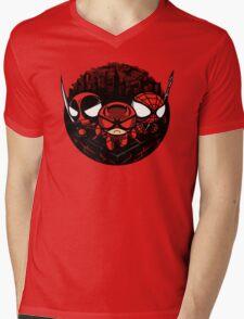 Team Redpuff Boys (Lighter Background) Mens V-Neck T-Shirt