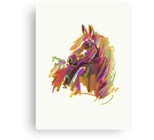 Horse true colours  Canvas Print