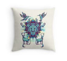 circle of nature Throw Pillow
