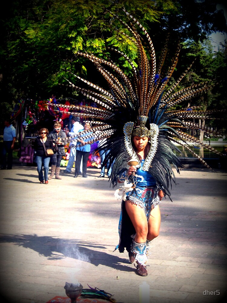 A Dancing Aztec by dher5