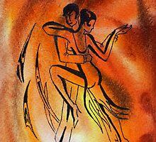 Dancing Fire IV by Irina Sztukowski