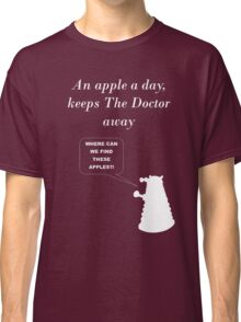 An apple a day... Classic T-Shirt