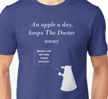 An apple a day... Unisex T-Shirt
