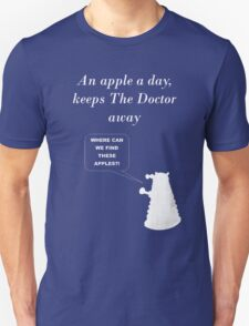 An apple a day... T-Shirt
