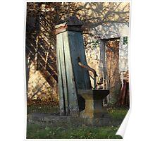 Water Well, Graz, Austria Poster