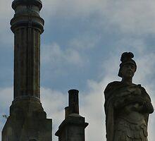 The statu of Roman Bath  by Fathers