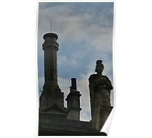 The statu of Roman Bath  Poster