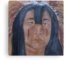 Pride of a warrior Canvas Print