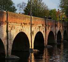 Old Bridge, Stratford-upon-Avon by KUJO-Photo