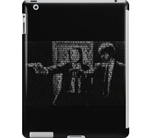 Pulp Fiction Quotes iPad Case/Skin
