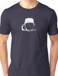 VW Beetle - White HANKO - personalised Unisex T-Shirt