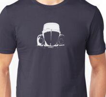 VW Beetle - White HANKO - personalised Unisex T-Shirt