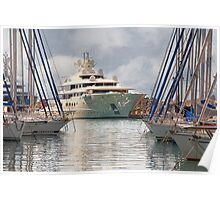 There are yachts and there are yachts Poster