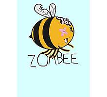 The Zombie Bee Photographic Print