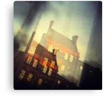 Dublin - window view  Canvas Print