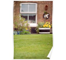 Perfect Lawn with Daisy, Chester Poster