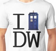 I love Doctor Who Unisex T-Shirt
