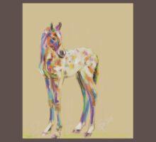 Foal paint One Piece - Short Sleeve
