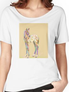 Foal paint Women's Relaxed Fit T-Shirt