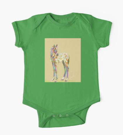 Foal paint One Piece - Short Sleeve