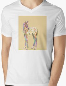 Foal paint Mens V-Neck T-Shirt