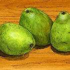 handle with care pears by bernzweig