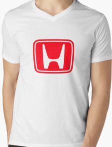 1960s Honda Formula One Logo Mens V-Neck T-Shirt