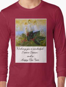 A Card for Christmas Long Sleeve T-Shirt