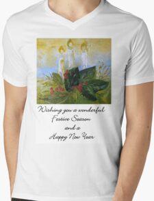 A Card for Christmas Mens V-Neck T-Shirt