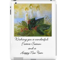 A Card for Christmas iPad Case/Skin