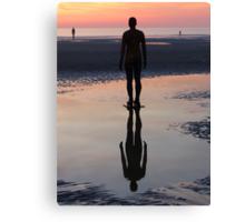 Staring at the Sea, Crosby Beach Canvas Print