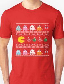 Get Ready! Christmas Pac-Man (RED) T-Shirt