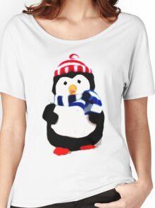Cute Penguin T-shirt Women's Relaxed Fit T-Shirt