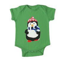 Cute Penguin T-shirt One Piece - Short Sleeve