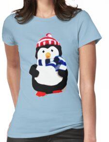 Cute Penguin T-shirt Womens Fitted T-Shirt