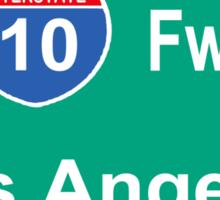 INTERSTATE 10: LOS ANGELES Sticker