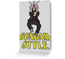 Gundam Style Greeting Card