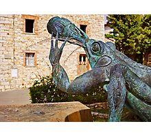 Chianti Frog Fountain Photographic Print