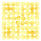 Imperfect Geometry Yellow Circles by Nic Squirrell