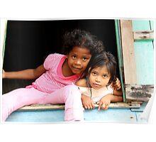 Panamanian Girls Poster
