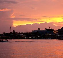 Sunset on Bocas by Abby Lewtas