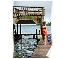Tegan & Andrea walk the pier Poster