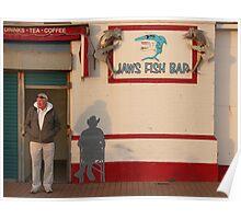 Jaws Fish Bar, Brighton Poster