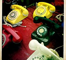 Retro Phone by tatsuko