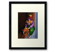 Oh Mabeline! Framed Print