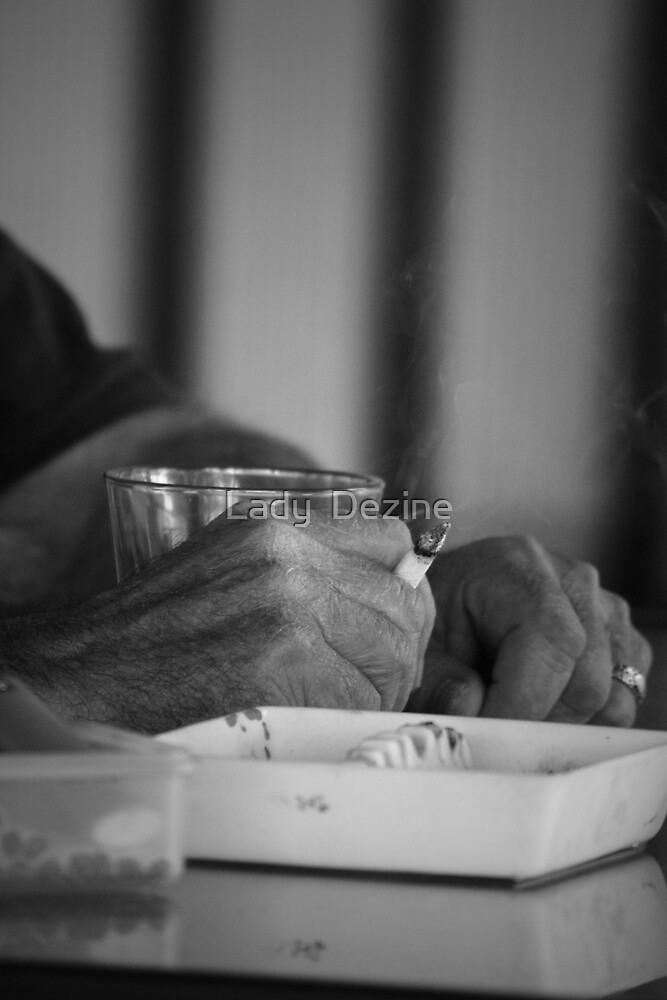 Grandpa's Hands  by Lady  Dezine
